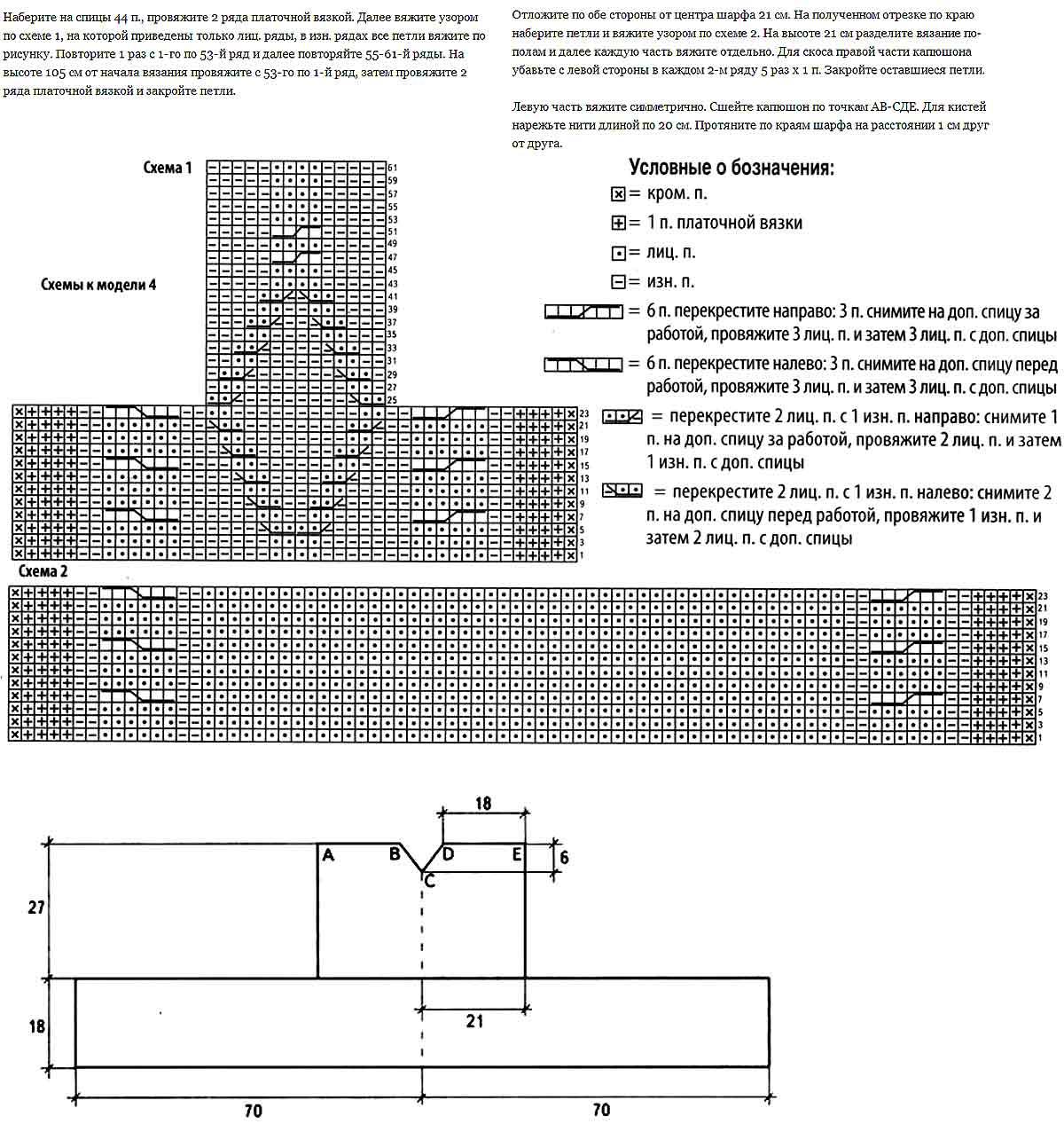 Бесплатные схемы узоров для вязания на спицах.