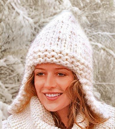 Вязание осенних и зимних шапочек для взрослых
