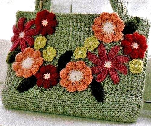 схему вязания сумки