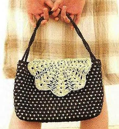 модели сумок крючком