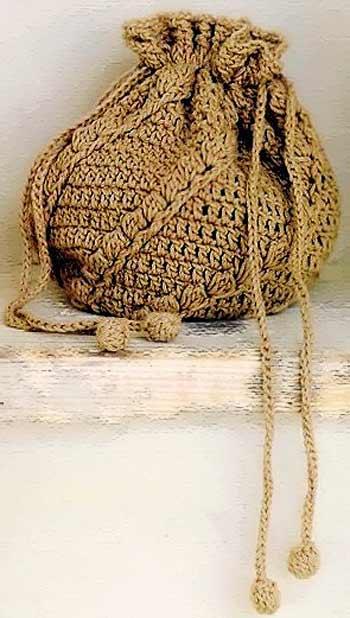 схемы сумок, связанных