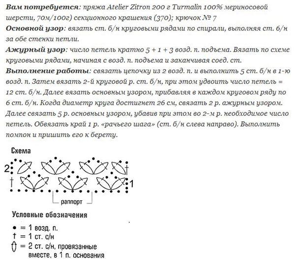 Вязание спицами и крючком: с чего начать, инструменты, материалы, схемы, модели.Ru вязание крючком, 1200 схем вязания...