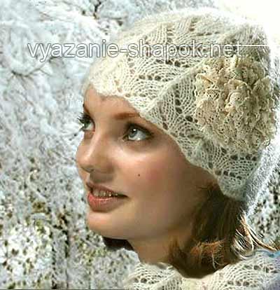 Вязание шапочки зимние крючком