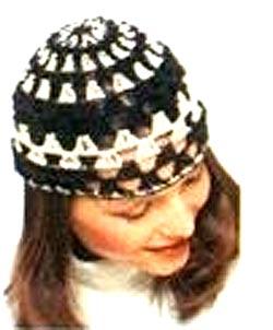 ажурная шапочка крючком