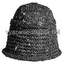 вязаная мужская шапка 2011-2012