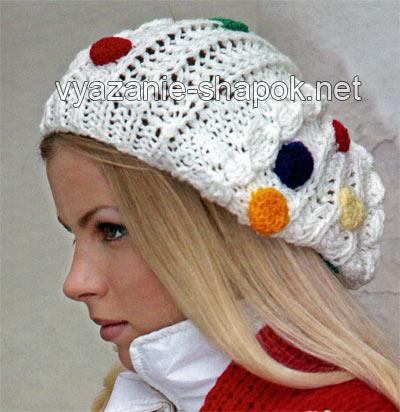 Описание: молодежные шапки 2012 вязаные крючком.
