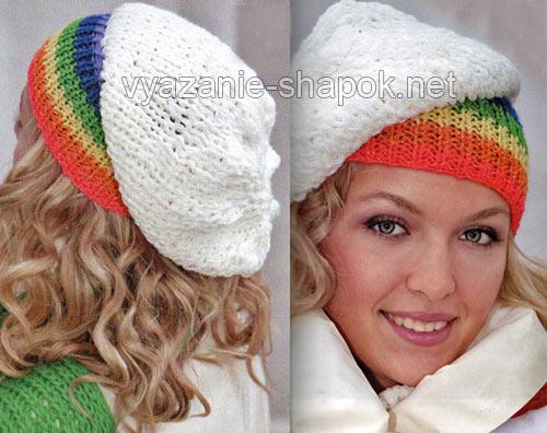 Вязаные женские шапки | Секреты