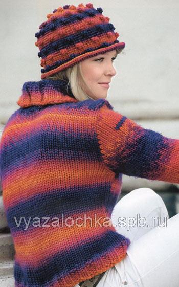 и вязание простого свитера