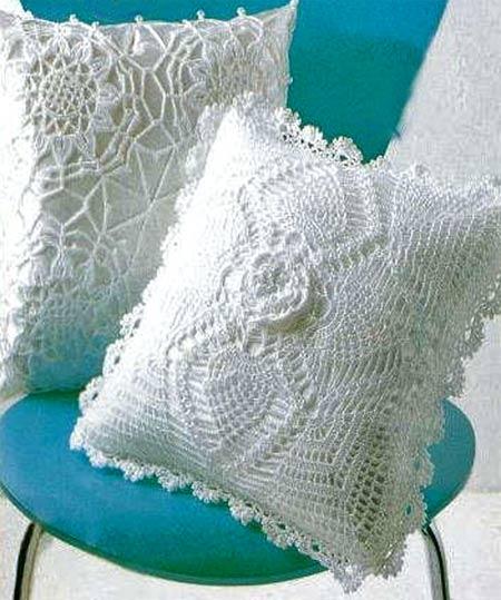Эти вязаные подушки привлекли