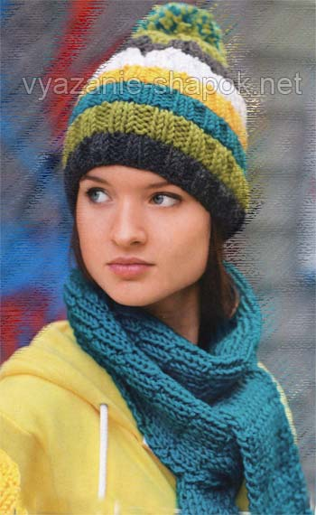 """На нашем женском сайте  """"Дамочка """" Вы постоянно можете отыскать публикацию - связать шапку с помпоном спицами, с..."""