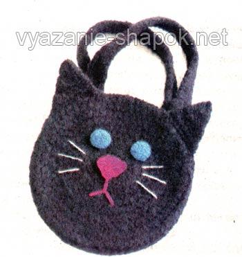 сумка детская крючком