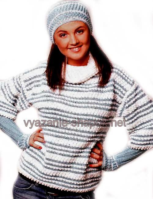 Вязаные зимние шапки ВЯЗАНИЕ ШАПОК: женские шапки спицами и крючком, Шапки, шарфы, шали Постила
