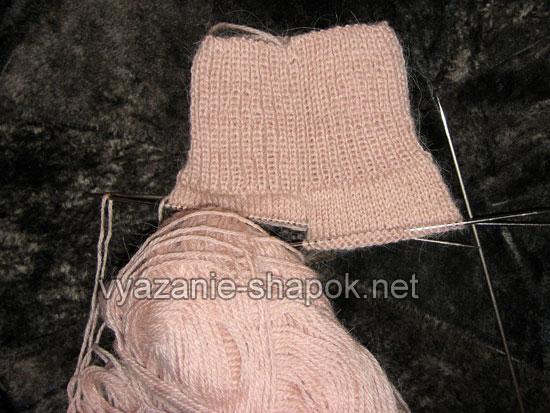 Как связать носки спицами 2