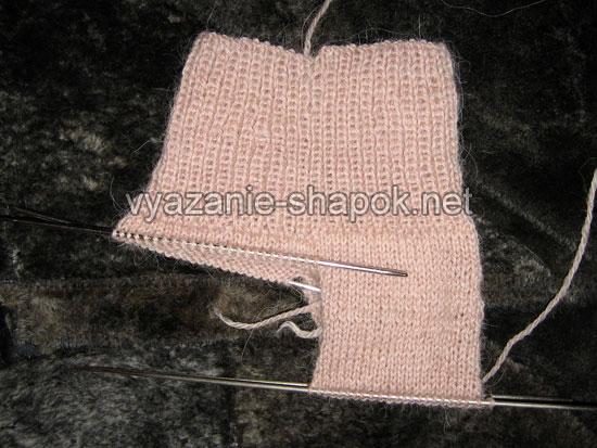 Как связать носки спицами 3