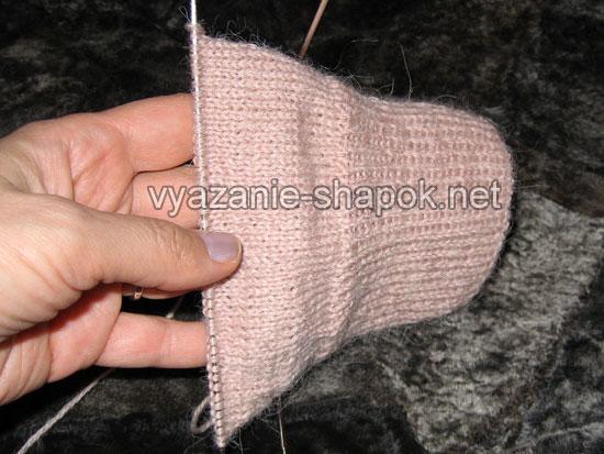 Как связать носки спицами 4