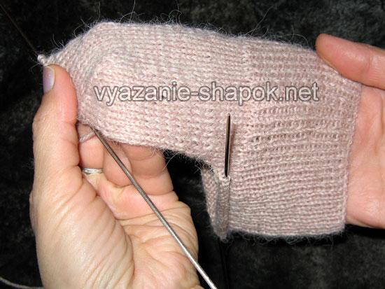 Как связать носки спицами 5