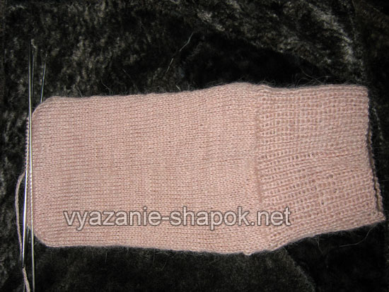 Как связать носки спицами 7