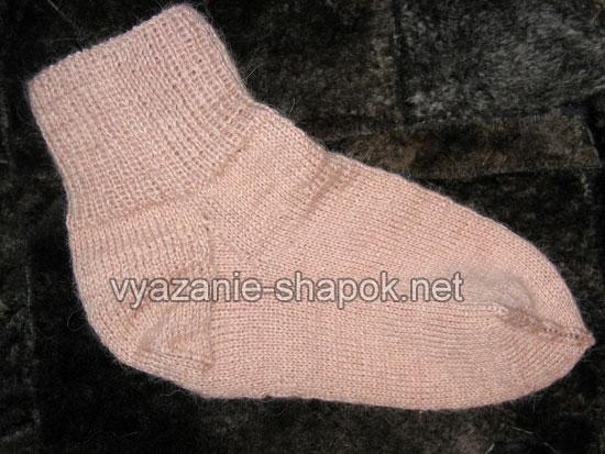 Как связать носки спицами 1