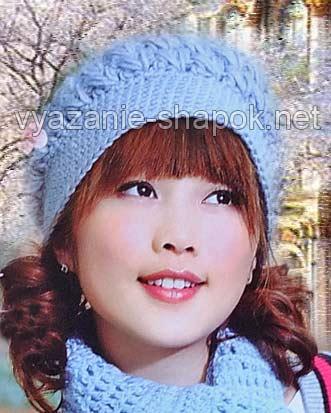 Эта теплая зимняя шапка-берет
