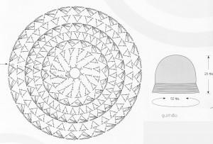 шапка схема осень-зима 2014-2015