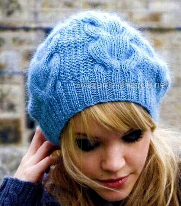 Зимняя шляпа крючком схема фото 937