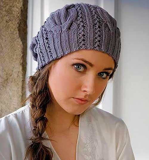 Автор называет эту шапку Starr