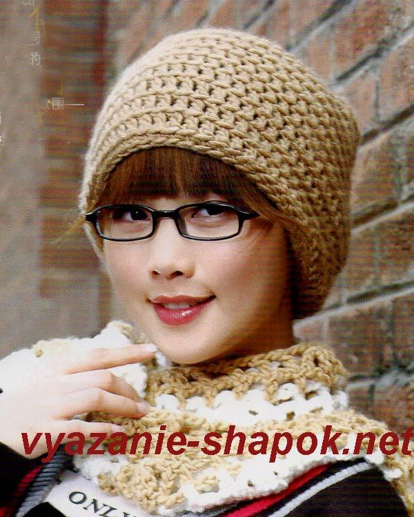 Вязание шапки в блогах