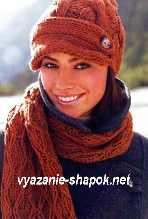 Вяжем зимние шапки для детей